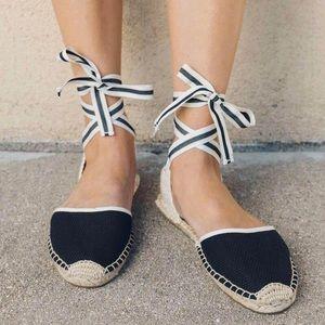Soludos Classic Espadrille Sandals In Black 10